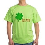 Irish Shamrock Green T-Shirt