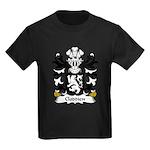 Cloddien Family Crest Kids Dark T-Shirt