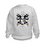 Cloddien Family Crest Kids Sweatshirt