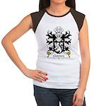 Cloddien Family Crest Women's Cap Sleeve T-Shirt
