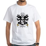 Cloddien Family Crest White T-Shirt