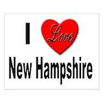 I Love New Hampshire Small Poster