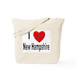 I Love New Hampshire Tote Bag