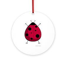 Ladybug Keepsake (Round)