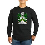 Cherleton Family Crest Long Sleeve Dark T-Shirt