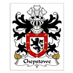 Chepstowe Family Crest Small Poster
