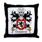 Chepstowe Family Crest Throw Pillow