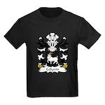 Celynin Family Crest Kids Dark T-Shirt