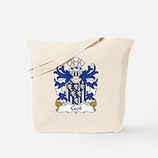 Cecil Family Crest Tote Bag