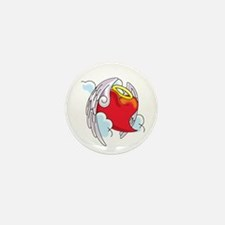 Angelic Heart Buttons and Mag Mini Button (10 pack