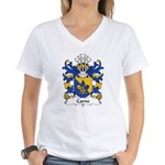 Carne Family Crest Women's V-Neck T-Shirt