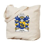 Carne Family Crest Tote Bag