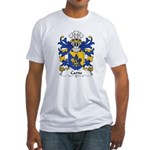 Carne Family Crest Fitted T-Shirt