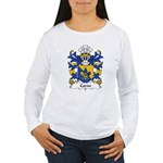 Carne Family Crest Women's Long Sleeve T-Shirt
