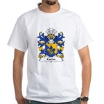 Carne Family Crest White T-Shirt