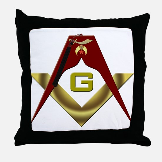 The Fez on the S&C Throw Pillow