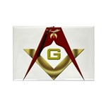 The Fez on the S&C Rectangle Magnet (100 pack)