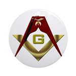 The Fez on the S&C Ornament (Round)