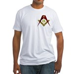 The Fez on the S&C Fitted T-Shirt