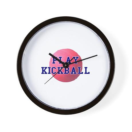 Play Kickball Wall Clock