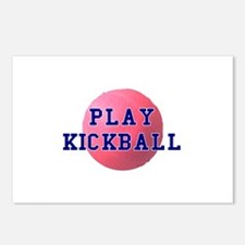 Play Kickball Postcards (Package of 8)