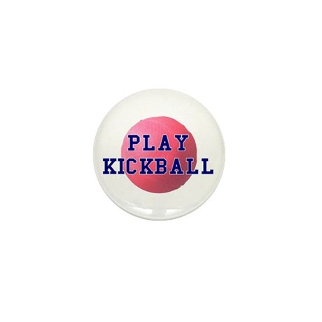 Play Kickball Mini Button (100 pack)