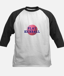 Play Kickball Kids Baseball Jersey