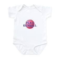 Play Kickball Infant Bodysuit