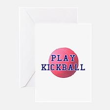 Play Kickball Greeting Cards (Pk of 10)