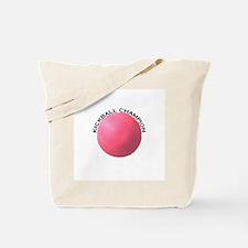 Kickball Champion Tote Bag