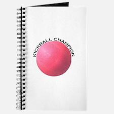 Kickball Champion Journal