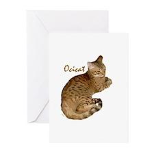 Ocicat Greeting Cards