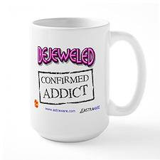 Bejeweled Confirmed Addict Mug