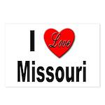 I Love Missouri Postcards (Package of 8)