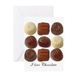 Chocolate Lover Greeting Card