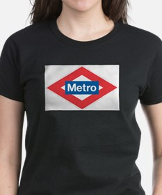 Madrid Metro Ash Grey T-Shirt