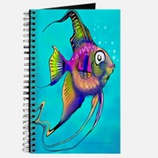 Cute Angelfish Journal