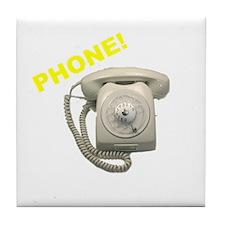 Phone! Tile Coaster