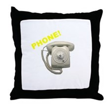 Phone! Throw Pillow