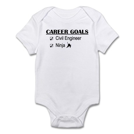 Civil Engineer Career Goals Infant Bodysuit