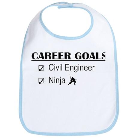 Civil Engineer Career Goals Bib