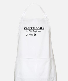 Civil Engineer Career Goals BBQ Apron