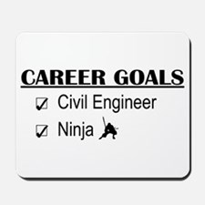 Civil Engineer Career Goals Mousepad