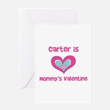 Carter is Mommy's Valentine Greeting Card