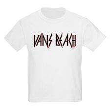 Vans Beach- Vintage 80's Rock T-Shirt