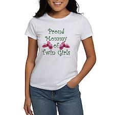 Proud Mommy of Twin Girls FL Tee