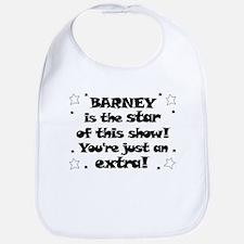 Barney is the Star Bib