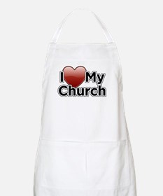 Love Church BBQ Apron
