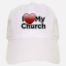 Love Church Baseball Baseball Cap