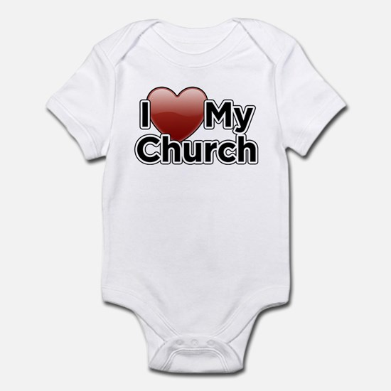 Love Church Infant Bodysuit